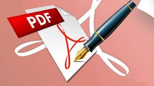 modificare un pdf file
