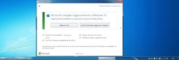 come eliminare notifica windows 10 1