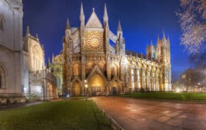 Westminster Abbey notte